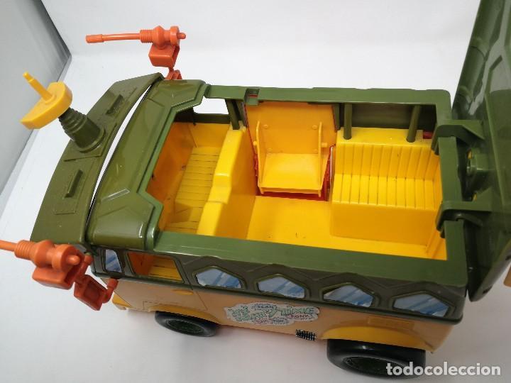 Figuras y Muñecos Tortugas Ninja: TMNT camioneta furgoneta Tortugas Ninja. Playmates Toys 1989. Completa. Dificil. - Foto 8 - 128746571