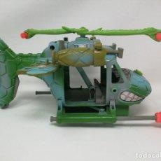 Figuras y Muñecos Tortugas Ninja: TMNT HELICOPTERO TURTLECOPTER TORTUGAS NINJA. PLAYMATES TOYS 1990. DIFICIL. RARO. UNICO . Lote 128746767