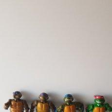 Figuras y Muñecos Tortugas Ninja: LOTE DE TORTUGAS NINJA ANTIGUAS ORIGINAL. Lote 128975136