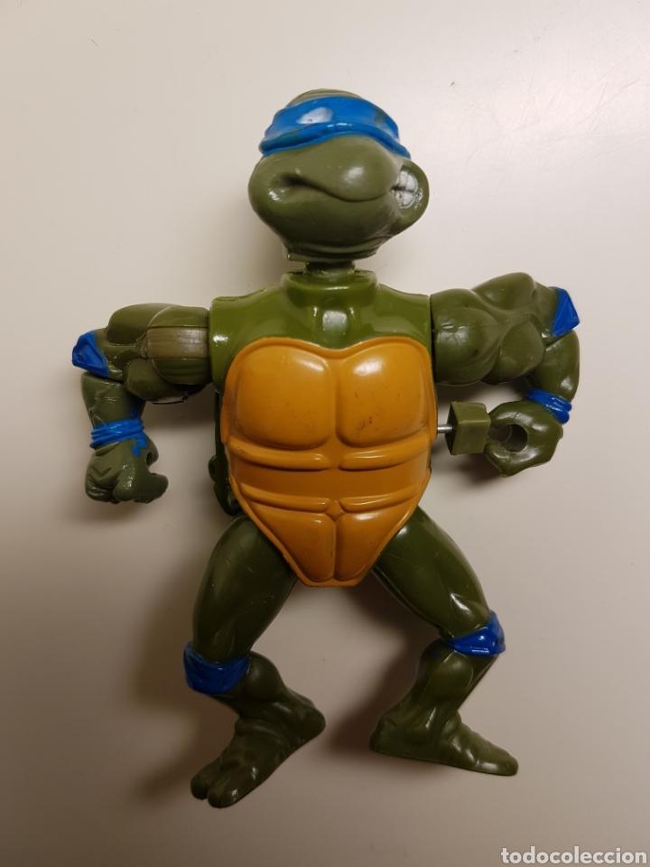 LEONARDO 1989 TORTUGAS NINJA TMNT PLAYMATES MIRAGE STUDIOS (Juguetes - Figuras de Acción - Tortugas Ninja)