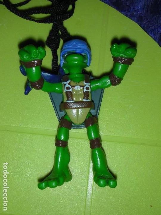Figuras y Muñecos Tortugas Ninja: TORTUGA NINJA PARACAIDAS DESPLEGABLE TMNT PLAYMATES MIRAGE STUDIOS - Foto 2 - 129660331
