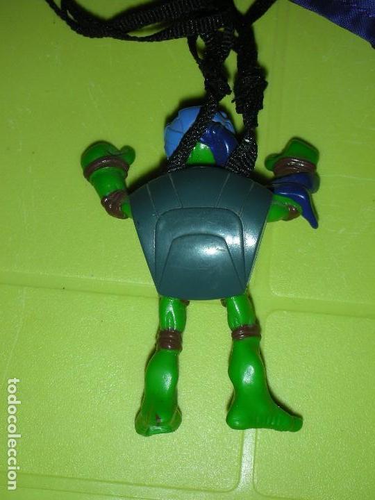 Figuras y Muñecos Tortugas Ninja: TORTUGA NINJA PARACAIDAS DESPLEGABLE TMNT PLAYMATES MIRAGE STUDIOS - Foto 3 - 129660331