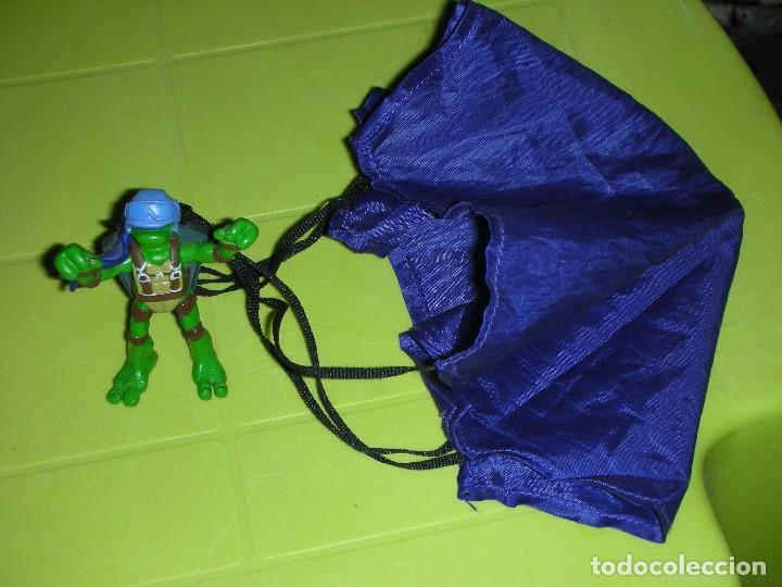 Figuras y Muñecos Tortugas Ninja: TORTUGA NINJA PARACAIDAS DESPLEGABLE TMNT PLAYMATES MIRAGE STUDIOS - Foto 5 - 129660331