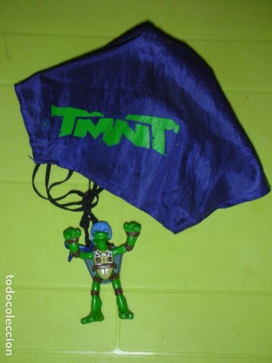 TORTUGA NINJA PARACAIDAS DESPLEGABLE TMNT PLAYMATES MIRAGE STUDIOS (Juguetes - Figuras de Acción - Tortugas Ninja)
