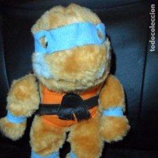 Figuras y Muñecos Tortugas Ninja: DONATELLO, TORTUGA NINJA- PELUCHE ORIGINAL 80'S, ANITEX PORTUGAL -. Lote 130497254