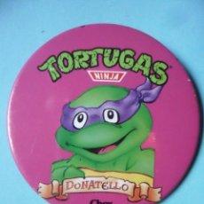 Figuras y Muñecos Tortugas Ninja: TORTUGAS NINJA CHAPA CHEX 1990 MIRAGE STUDIOS. Lote 130716869