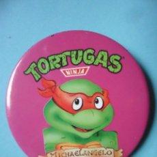Figuras y Muñecos Tortugas Ninja: TORTUGAS NINJA CHAPA CHEX 1990 MIRAGE STUDIOS. Lote 130716979