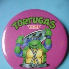 Figuras y Muñecos Tortugas Ninja: TORTUGAS NINJA CHAPA CHEX 1990 MIRAGE STUDIOS. Lote 130717054