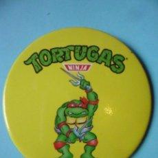 Figuras y Muñecos Tortugas Ninja: TORTUGAS NINJA CHAPA CHEX 1990 MIRAGE STUDIOS. Lote 130717119