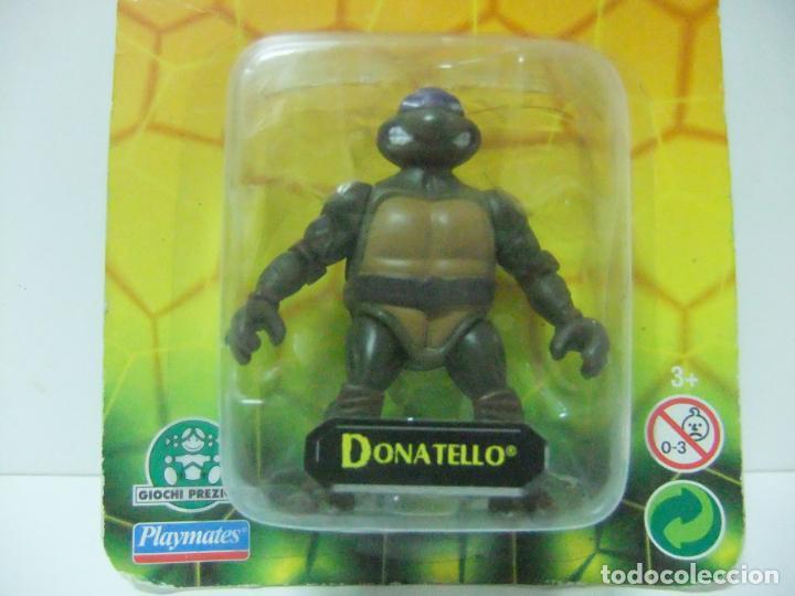 Figuras y Muñecos Tortugas Ninja: FIGURA DONATELLO - TORTUGAS NINJA TEENAGE MUTANT TURTLES - PLAYMATES GIOCHI PREZIOSI - JUGUETE TMNT - Foto 2 - 130921152
