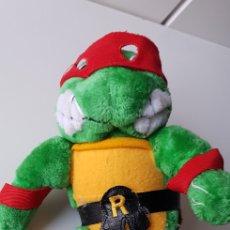 Figuras y Muñecos Tortugas Ninja: PELUCHE TORTUGAS NINJA RAFAEL ANTIGUO MADE IN SPAIN. Lote 131455623