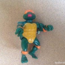Figuras y Muñecos Tortugas Ninja: TORTUGA NINJA A CUERDA. FUNCIONA. MIRAGE STUDIOS 1989. PLAYMATES TOYS.. Lote 194261796