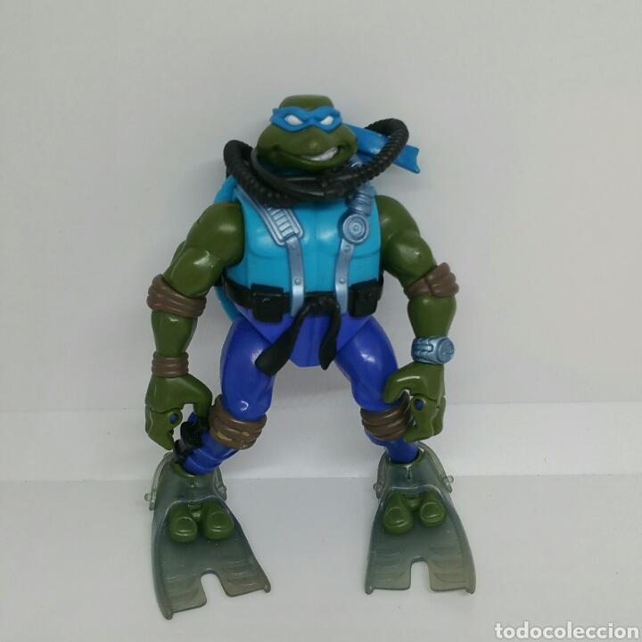 FIGURA BUZO TORTUGAS NINJA AÑOS 90 (Juguetes - Figuras de Acción - Tortugas Ninja)