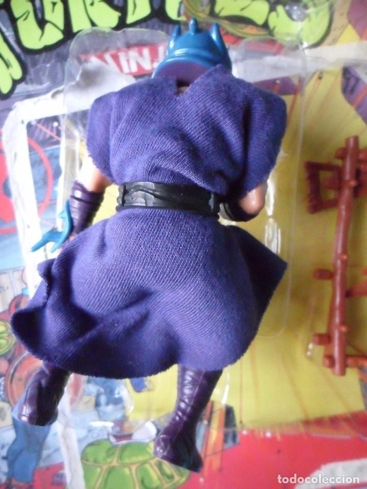 Figuras y Muñecos Tortugas Ninja: VINTAGE TMNT TEENAGE MUTANT NINJA TURTLES 10 BACK SHREDDER MIRAGE STUDIOS BANDAI 1988 - Foto 5 - 132525274
