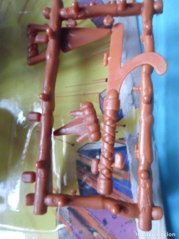 Figuras y Muñecos Tortugas Ninja: VINTAGE TMNT TEENAGE MUTANT NINJA TURTLES 10 BACK SHREDDER MIRAGE STUDIOS BANDAI 1988 - Foto 6 - 132525274