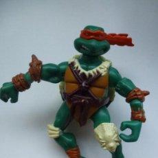 Figuras y Muñecos Tortugas Ninja: TORTUGA NINJA. MIRAGE. AÑO 2006. ARTICULADA MICHELANGELO. 12 CM APRÓX.. Lote 133278386