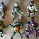 Figuras y Muñecos Tortugas Ninja: LOTE FIGURAS MUÑECOS TORTUGAS NINJA. Lote 133462882