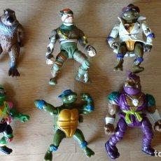 Figuras y Muñecos Tortugas Ninja - LOTE FIGURAS MUÑECOS TORTUGAS NINJA - 133462882