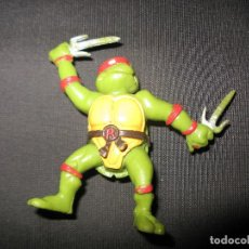 Figuras y Muñecos Tortugas Ninja: TMNT TEENAGE MUTANT NINJA TURTLES RAPHAEL FIGURA KINDER MIRAGE STUDIOS 1988. Lote 133481222