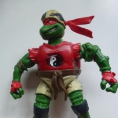 Figuras y Muñecos Tortugas Ninja: TORTUGA NINJA. MIRAGE. AÑO 2003. ARTICULADA. RAPHAEL. 12 CM APRÓX.. Lote 133549950