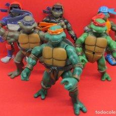 Figuras y Muñecos Tortugas Ninja: LOTE 6 FIGURAS TORTUGAS NINJA TMNT PLAYMATES 2002-2005. Lote 133749662