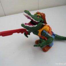 Figuras y Muñecos Tortugas Ninja: LEATHERHEAD - TMNT LAS TORTUGAS NINJA - FIGURA COCODRILO - PLAYMATES TOYS 1989 - EXCELENTE ESTADO. Lote 195151497