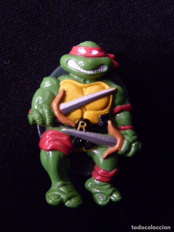 TORTUGAS NINJA. RELOJ RAPHAEL.MIRAGE STUDIOS INC. MADE IN CHINA, 1988 (Juguetes - Figuras de Acción - Tortugas Ninja)