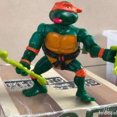 Figuras y Muñecos Tortugas Ninja: TMNT TEENAGE MUTANT NINJA TURTLES TORTUGAS NINJA VINTAGE MICHELANGELO A CUERDA. Lote 136077522