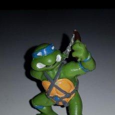 Figuras y Muñecos Tortugas Ninja: FIGURA LEONARDO DE LAS TORTUGAS NINJA YOLANDA MUÑECO GOMA PVC. Lote 136156166