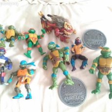 Figuras y Muñecos Tortugas Ninja: TORTUGAS NINJA LOTAZO DE PERSONAJES Y ACCESORIOS ENTRA Y MIRALO!!!. Lote 136758318
