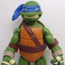 Figuras y Muñecos Tortugas Ninja: FIGURA TORTUGAS NINJA, LEONARDO, TMNT PLAYMATES VIACOM 2012, 27 CMTS.. Lote 137447212