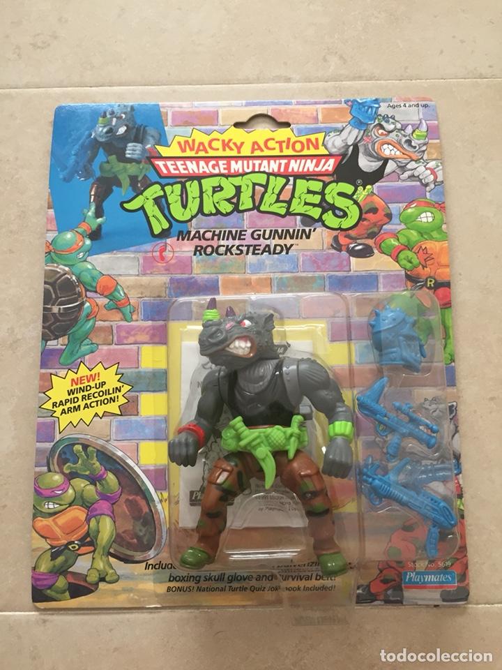 FIGURA ROCKSTEADY - TORTUGAS NINJA TMNT - TEENAGE MUTANT NINJA TURTLES - BURBUJA AGRIETADA (Juguetes - Figuras de Acción - Tortugas Ninja)