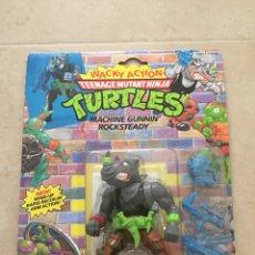 Figuras y Muñecos Tortugas Ninja - Figura Rocksteady - Tortugas Ninja TMNT - Teenage Mutant Ninja Turtles - Burbuja agrietada - 142722758