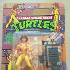 Figuras y Muñecos Tortugas Ninja - Figura April O'Neil - Tortugas Ninja TMNT - Teenage Mutant Ninja Turtles - Burbuja agrietada - 142722781