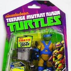 Figuras y Muñecos Tortugas Ninja: TORTUGAS NINJA OOZE LAUNCHIN LEO. Lote 138866634