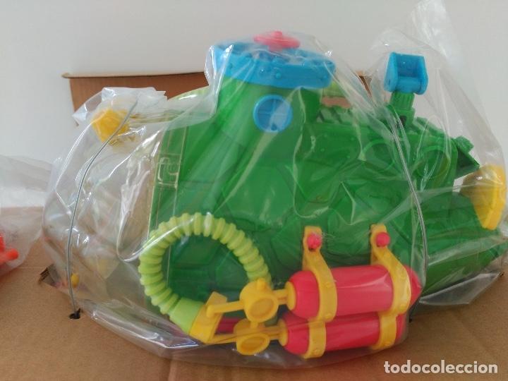 Figuras y Muñecos Tortugas Ninja: Submarino Tortugas Ninja. Vintage años 80! Nuevo, a estrenar ULTIMO - Foto 2 - 158743409