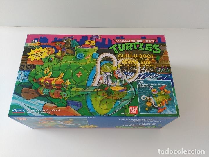 Figuras y Muñecos Tortugas Ninja: Submarino Tortugas Ninja. Vintage años 80! Nuevo, a estrenar ULTIMO - Foto 4 - 158743409