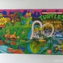 Figuras y Muñecos Tortugas Ninja: SUBMARINO TORTUGAS NINJA. VINTAGE AÑOS 80! NUEVO, A ESTRENAR ULTIMO. Lote 158743409