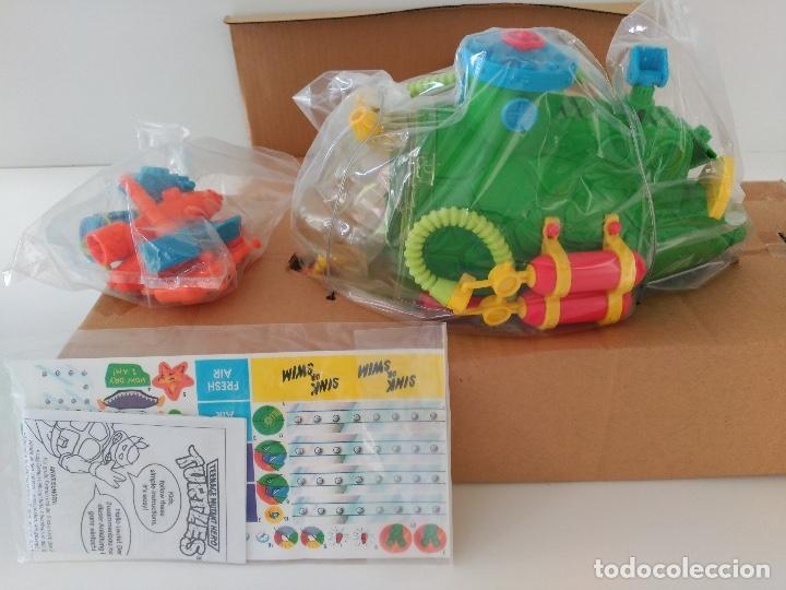 Figuras y Muñecos Tortugas Ninja: Submarino Tortugas Ninja. Vintage años 80! Nuevo, a estrenar ULTIMO - Foto 8 - 158743409