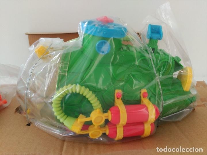 Figuras y Muñecos Tortugas Ninja: Submarino Tortugas Ninja. Vintage años 80! Nuevo, a estrenar ULTIMO - Foto 9 - 158743409