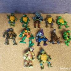 Figuras y Muñecos Tortugas Ninja: LOTE TORTUGAS NINJA VINTAGE. Lote 140418566
