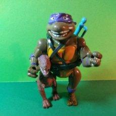 Figuras y Muñecos Tortugas Ninja: TORTUGAS NINJA - MIRAGE ESTUDIOS - PLAYMATES TOYS - DONATELLO 1989. Lote 141116494
