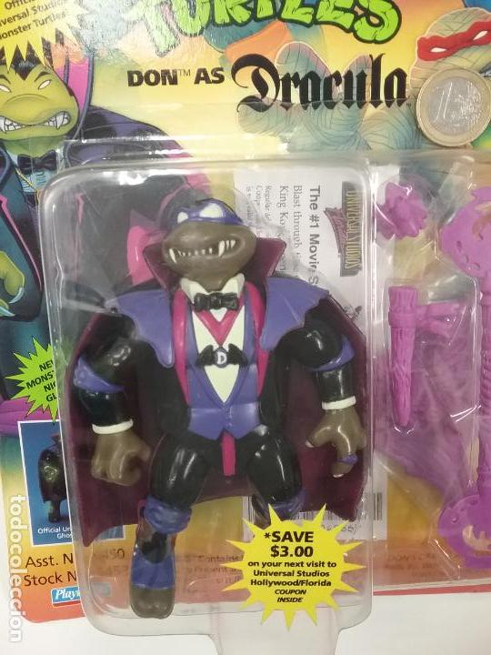 Figuras y Muñecos Tortugas Ninja: UNIVERSAL MONSTERS - SERIE I - TMNT - 1993 - DRÁCULA - FRANKENSTEIN - WOLFMAN - NUMMY - Foto 9 - 142260298