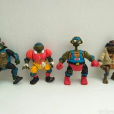 Figuras y Muñecos Tortugas Ninja: LOTE DE TORTUGAS NINJA VINTAGE. Lote 144631773