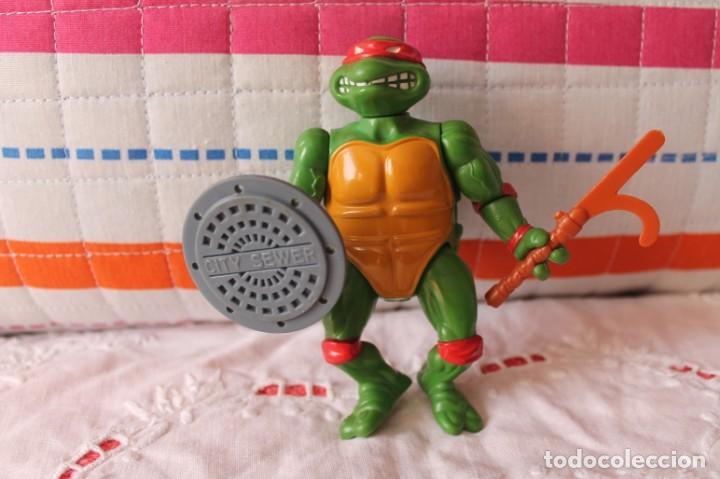 TORTUGA NINJA RAFAEL-AÑOS 80-90 (Juguetes - Figuras de Acción - Tortugas Ninja)