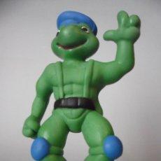 Figuras y Muñecos Tortugas Ninja: TORTUGAS NINJA RARA FIGURA BOOTLEG DE PVC DE 13 CM. Lote 147067522