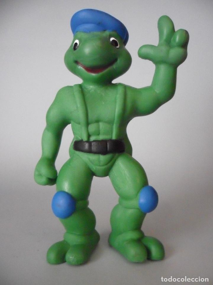 Figuras y Muñecos Tortugas Ninja: TORTUGAS NINJA RARA FIGURA BOOTLEG DE PVC DE 13 CM - Foto 2 - 147067522