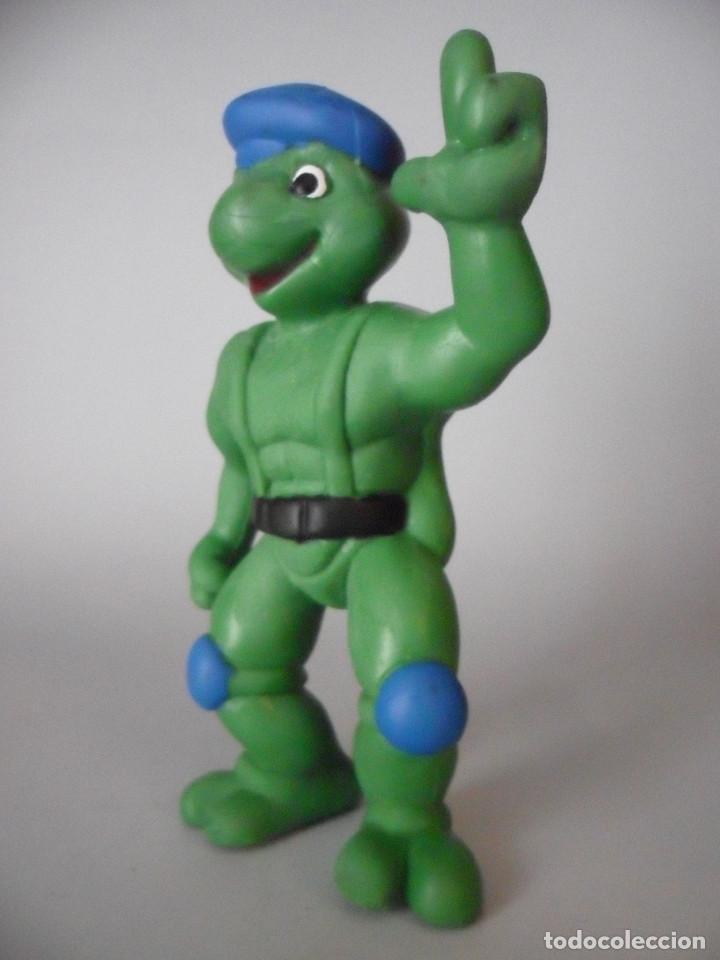 Figuras y Muñecos Tortugas Ninja: TORTUGAS NINJA RARA FIGURA BOOTLEG DE PVC DE 13 CM - Foto 3 - 147067522