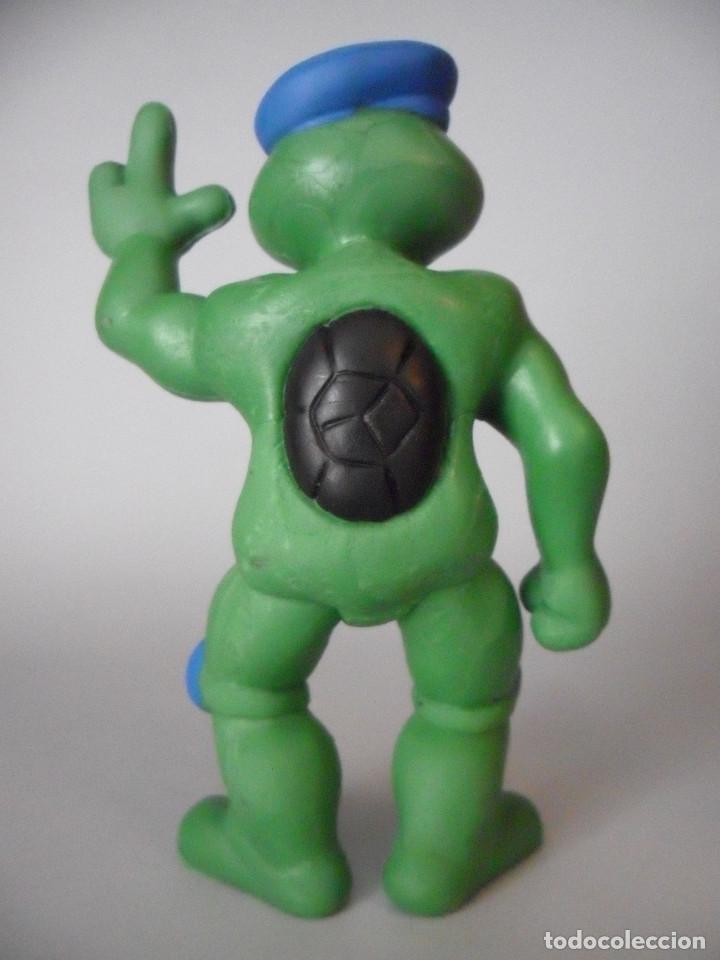 Figuras y Muñecos Tortugas Ninja: TORTUGAS NINJA RARA FIGURA BOOTLEG DE PVC DE 13 CM - Foto 5 - 147067522