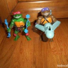 Figuras y Muñecos Tortugas Ninja: FIGURAS TORTUGAS NINJA TEENAGE MUTANT NINJA TURTLES AÑOS 90. Lote 148186494